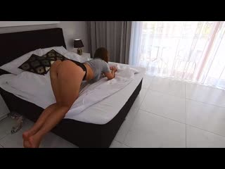 Behindthemaskk - i never see so horny girl! perfect ride with wet pussy