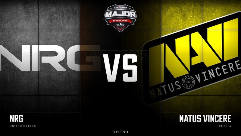 RU NRG vs Natus Vincere Map 2 Mirage New Champions Stage StarLadder Major 2019