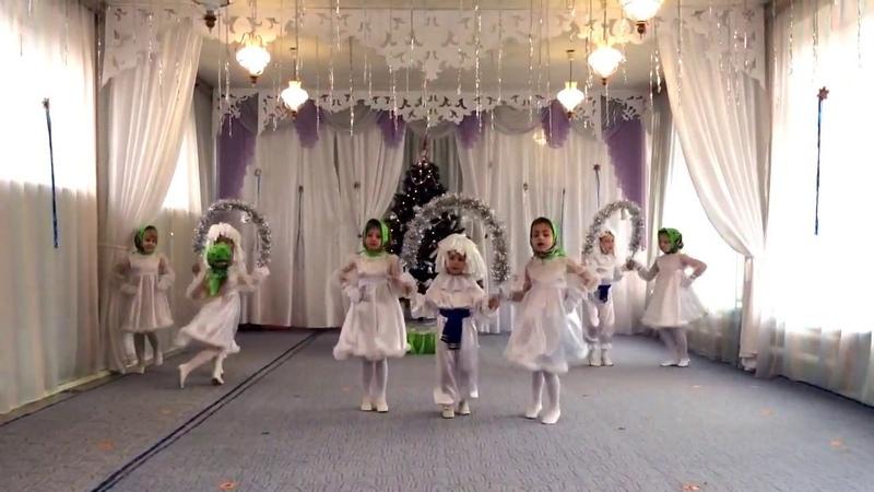 танец -Три белых коня -Мартынова Людмила