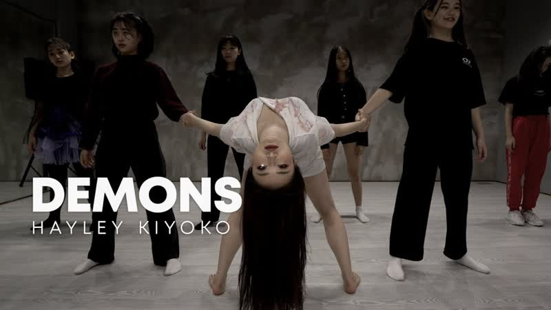 Hayley Kiyoko `Demons` ⁄ Sueme girlish choreography