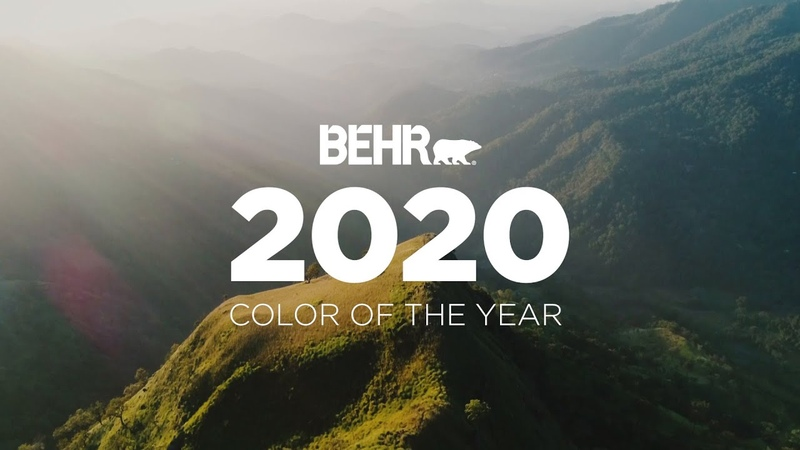 BEHR® 2020 Color of the Year Back to Nature