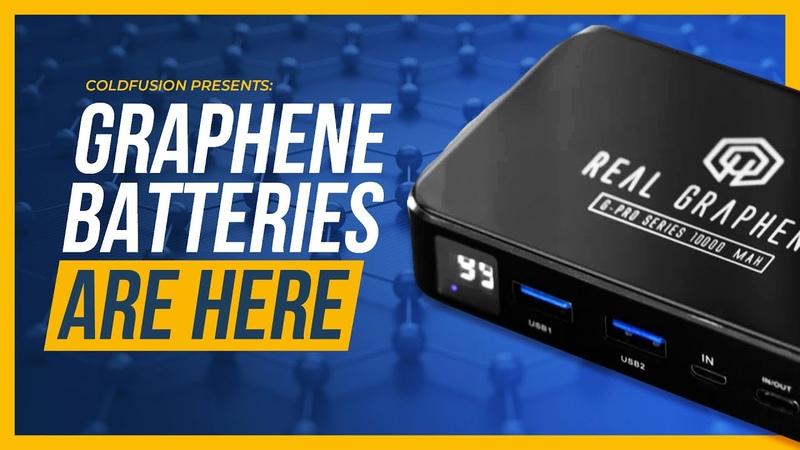 Major Breakthrough: Graphene Batteries FINALLY Hit the Market
