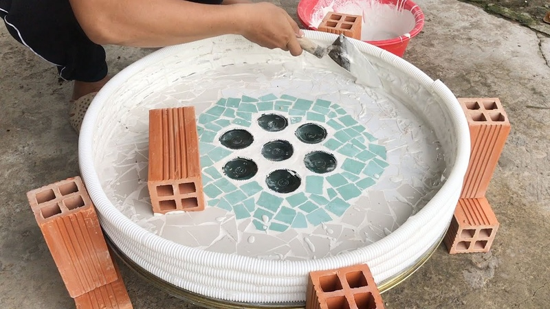 DIY - Make beautiful fountains at home -It reminds me of my wedding day