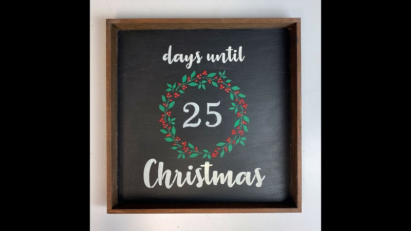 Day 20 of 30 Days Til Xmas Chalkboard Countdown