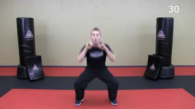 33 Minute Krav Maga Workout Lower Body HIIT Krav Combatives