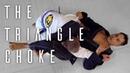 The Triangle Choke From White Belt to Black Belt Blue Belt 2 0