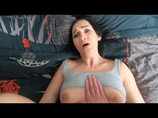 Hot Mommy - My Hot Stepmom Allowed me to Touch only her Pussy but i came in her
