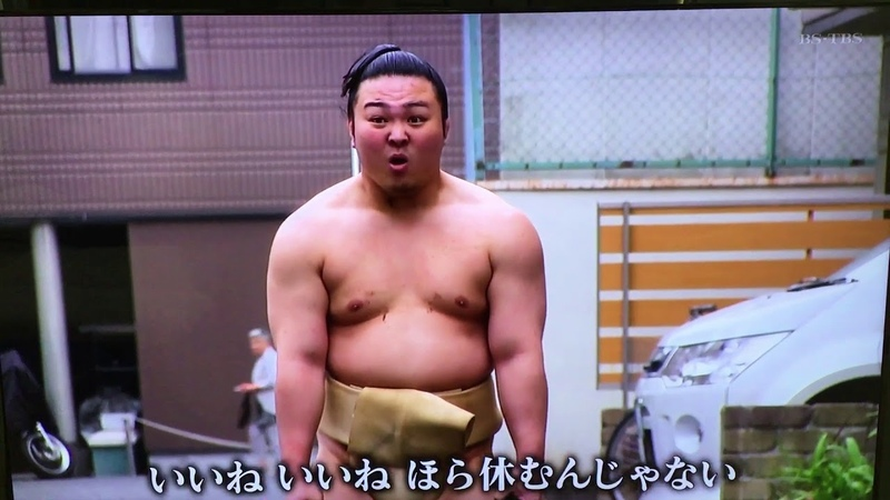 So you want to be a sumo wrestler (Hakuho training with Enho Ishiura)