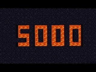 5000 Квест, знакомство с сервером, скачать мир, HARLEM SHAKE