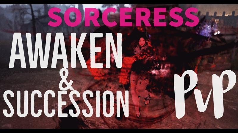Black Desert Online Sorceress AwakenSuccession PvP