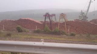 Масштабы вырубки леса в городе Усть-Кут Иркутской области...Жесть