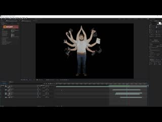 Doctor Strange Duplication Effect in After Effects Tutorial