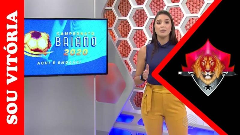 Vitória vence o Jacobina na partida de quarta-feira, pelo Campeonato Baiano 2020