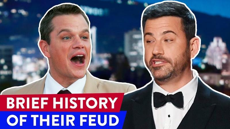 Jimmy Kimmel vs Matt Damon: The Full History Of Their Feud | ⭐OSSA