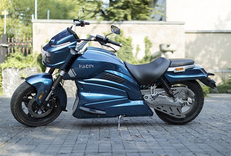 Электрический мотоцикл Hadin Panther покажут на EICMA 2019