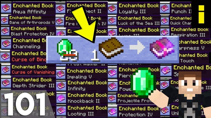 Hermitcraft 6 | Ep 101 Every Enchanted Book For 1 Emerald!