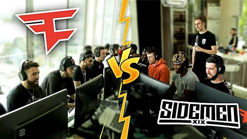 FaZe Clan vs Sidemen MW2 Search and Destroy 6v6