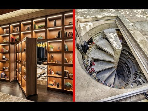 INCREDIBLE Hidden Rooms and AWESOME Secret Furniture