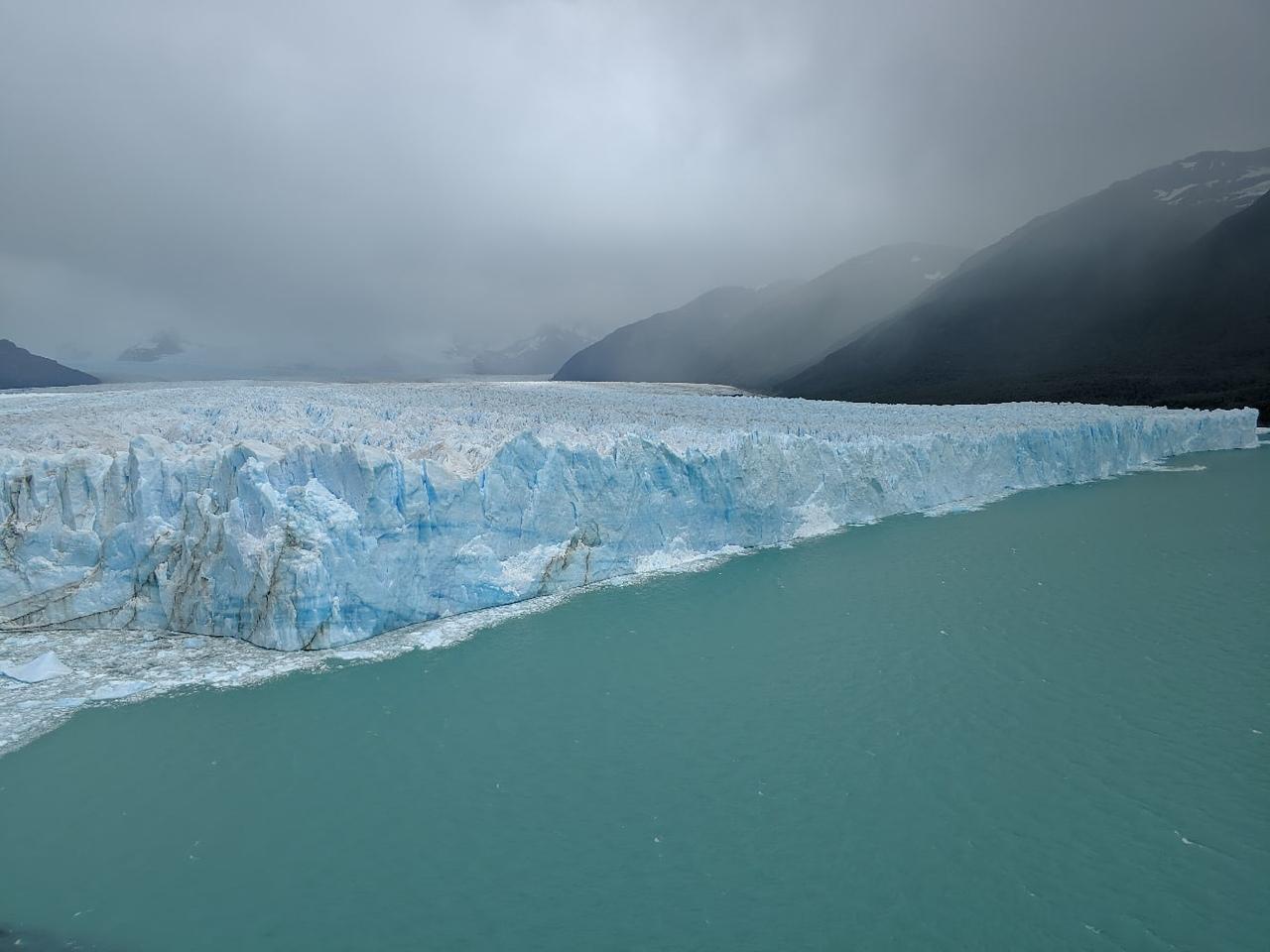 Аргентина. Эль-Калафате. Ледник Перито-Морено.