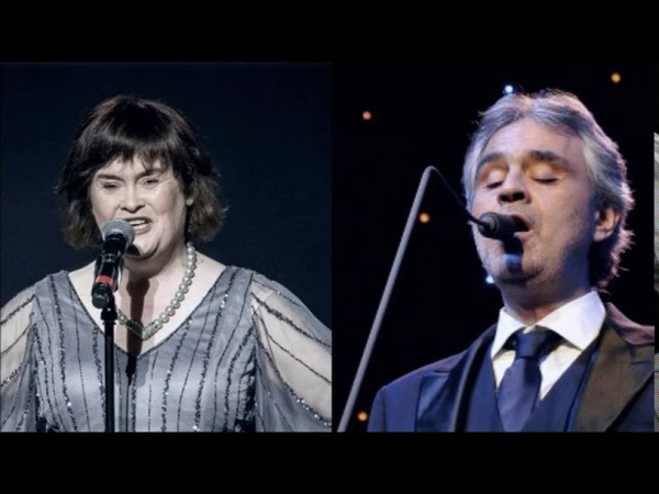 Susan Boyle Duet Andrea Boccelli The Lord's Prayer