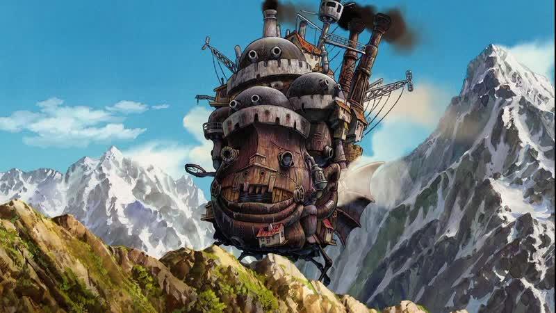 Смотрим Ходячий замок