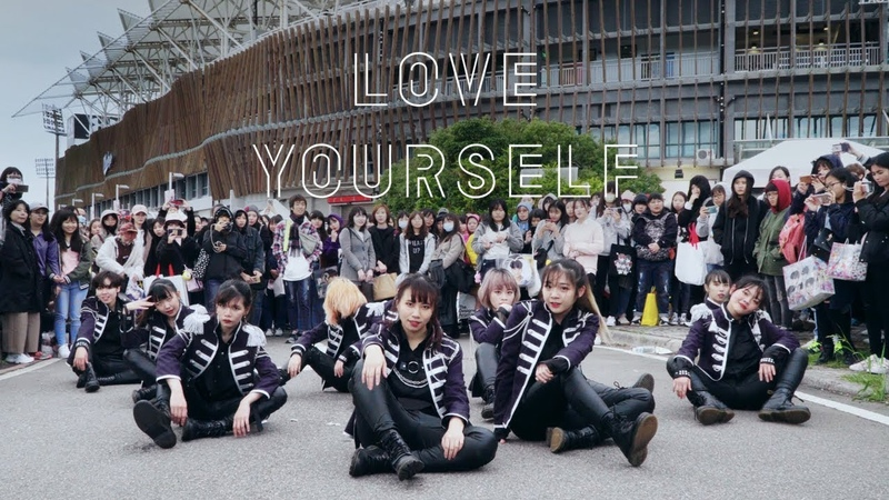KPOP IN PUBLIC CHALLENGE BTS 방탄소년단 DNA FAKE LOVE IDOL Dance Cover by DAZZLING from Taiwan