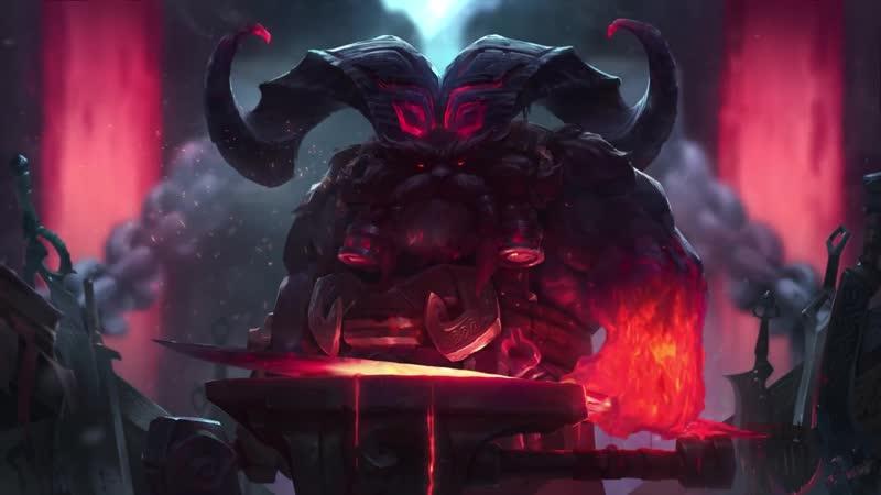 Ornn, the Fire below the Mountain ¦ Login Screen - League of Legends