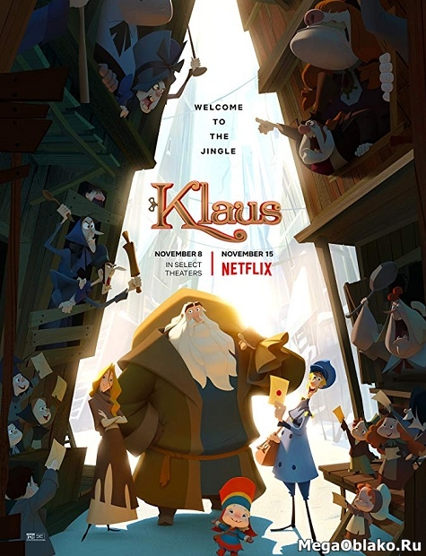Клаус / Klaus (2019/WEB-DL/WEB-DLRip)