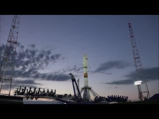 Пуск ракеты носителя Союз 2.1Б