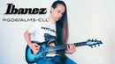 Ibanez RGD61ALMS Axion label || War Machine Playthrough || Tone Test