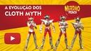 A Evolução da linha CLOTH MYTH Cavaleiros do Zodíaco bonecos