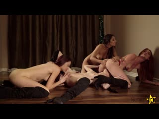 Gianna dior, lacy lennon, mackenzie moss, sabina rouge my step sisters are mean girls porno, lesbian sex foursome