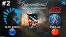 Liquid vs PSG.LGD 2 (BO3) The International 2019