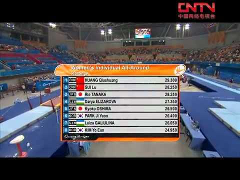 Women AA 11 16th Asian Games Gymnastic 2010