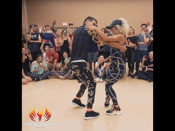 Abdel y Lety Phoenix bachata festival 2019 (🎶subimos de rango - dj Alejandro)