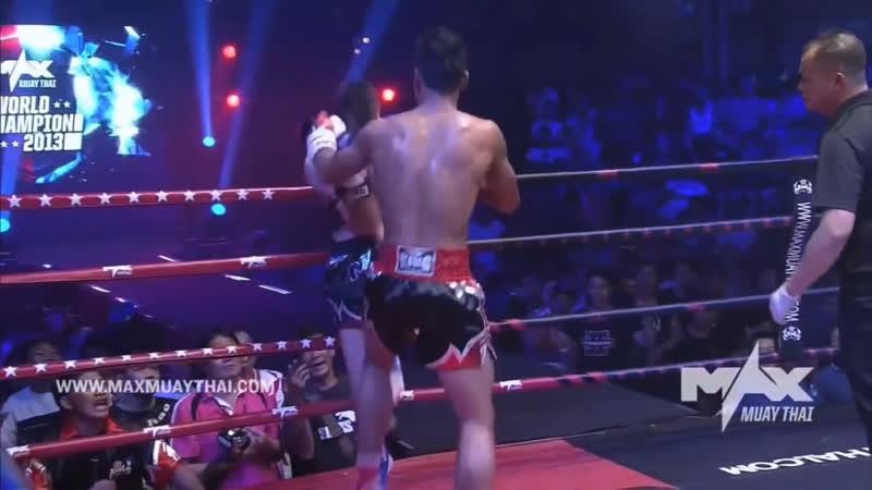 Sittichai Sitsongpeenong звезда тайского бокса Лучшие моменты боев