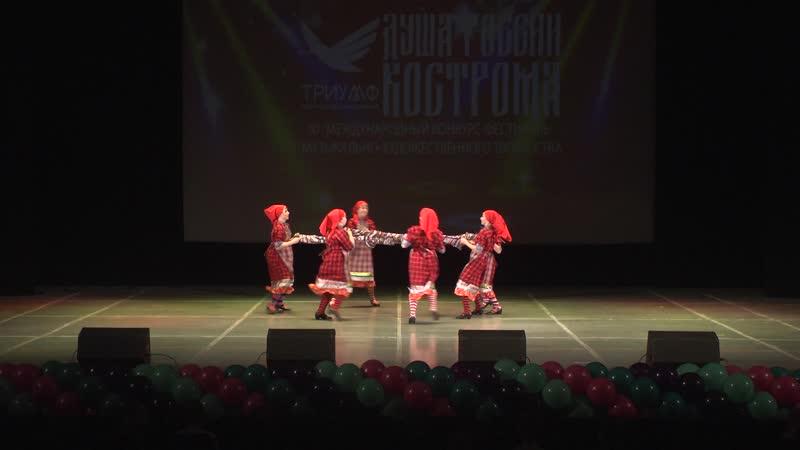 Удмуртский народный танец Мастерицы