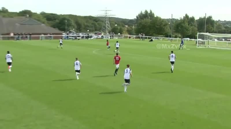 Hannibal Mejbri U18 debut v Derby [14-09-2019]
