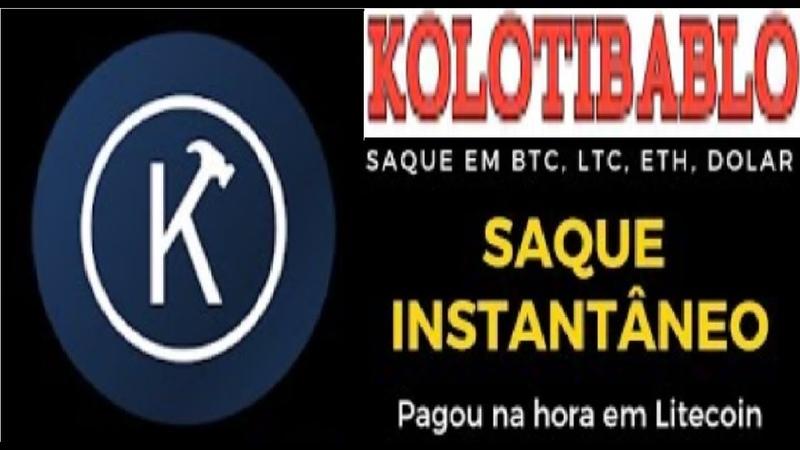 KOLOTIBABLO ►Paga Mais que Faucet Ganhe $100 Bitcoin Resolvendo Captcha Prova de Pagamento