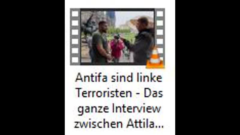 Antifa sind linke Terroristen Das ganze Interview zwischen Attila Hildmann und dem Mainstream