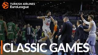 Classic Games, 2016-17 RS R7: Real Madrid-Panathinaikos Athens