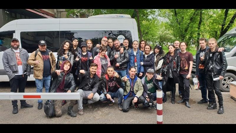 ZARRAZA tour diary (support SEPULTURA in Bishkek, April 26, 2019)