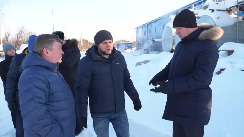 Глава СГО Василий Сизиков о воде в поселке Энергетиков и завершении работ по художественной школе