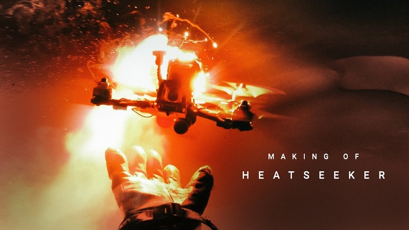 Making of Heatseeker: Drones flares, and other bad ideas