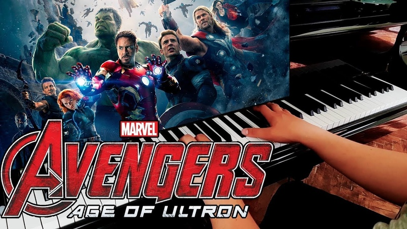 Avengers Age Of Ultron - Main Theme (Piano Version)