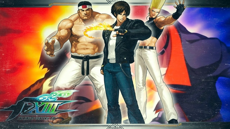 The King of Fighters XIII Story Mode Team Japan