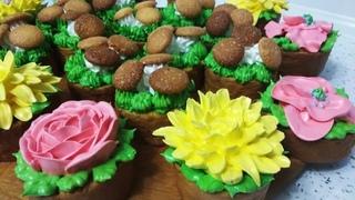 Як прикрасити торти, тістечка