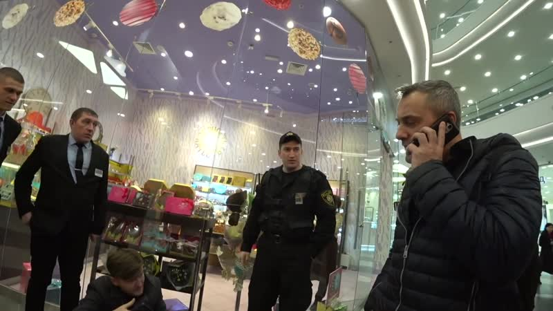 Набутыленные охранники отомстили за ЛикБез Блогера спасала скорая ТЦ Хоршо 2 часть
