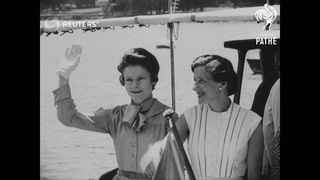 SWITZERLAND: Big Four meetings continue in Geneva (1955)