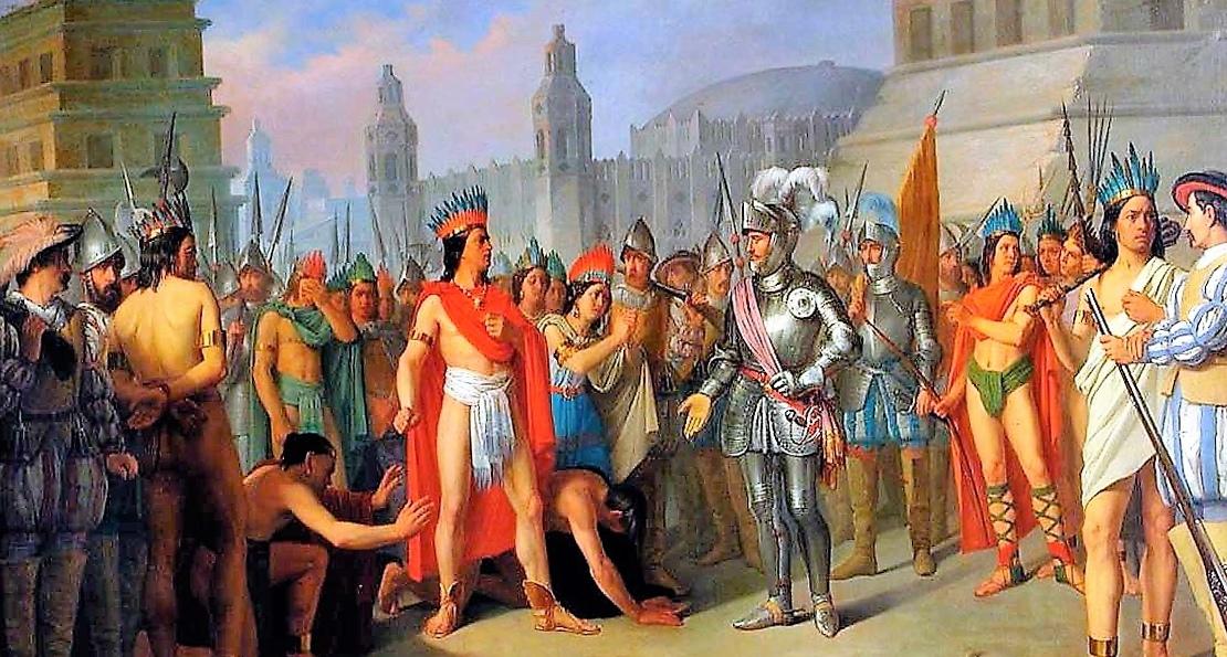 Испанцы у ацтеков